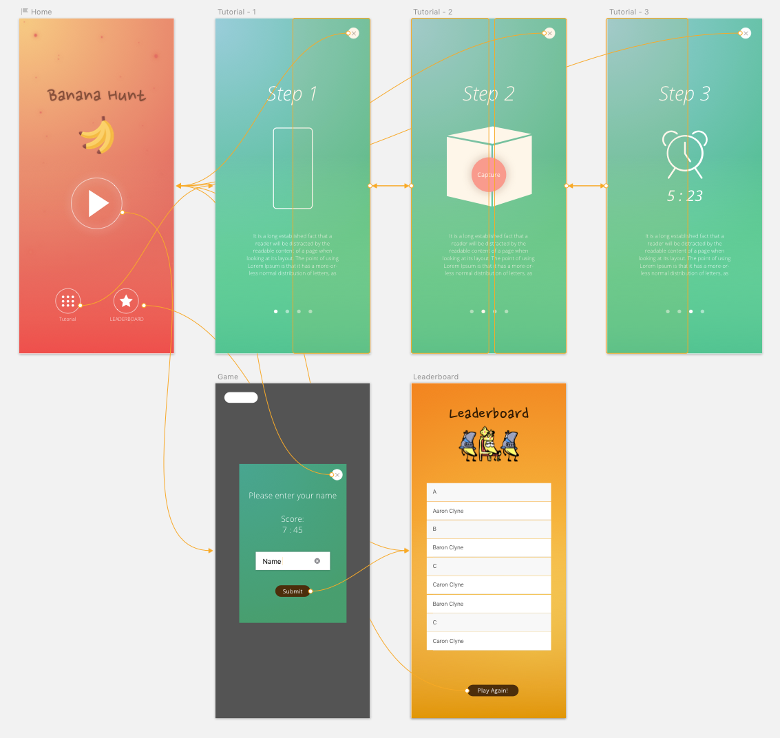 UX Design in Sketch