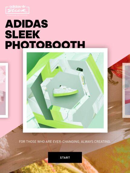 Adidas Sleek Photo Booth